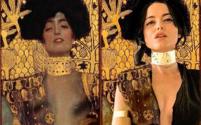 La cosplayer ucraniana más famosa se transforma en pinturas clásicas